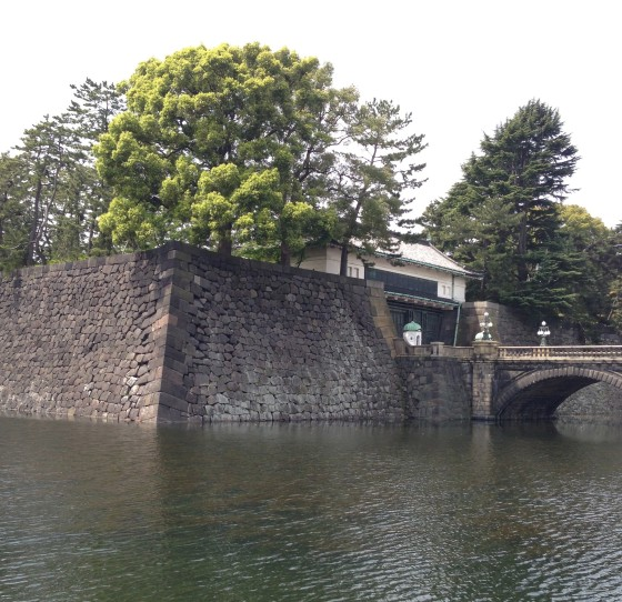 "This is as close as we got to the imperial palace, it was shut. We had walked for about 90 minutes to get there. Not bitter, no.  This was the moat to the guardhouse, there was a second bridge to get to the island of the palace. ""Its great"" says the guidebooks. Get stuffed."